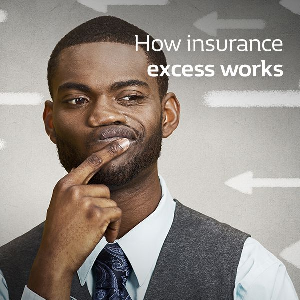 How insurance excess works